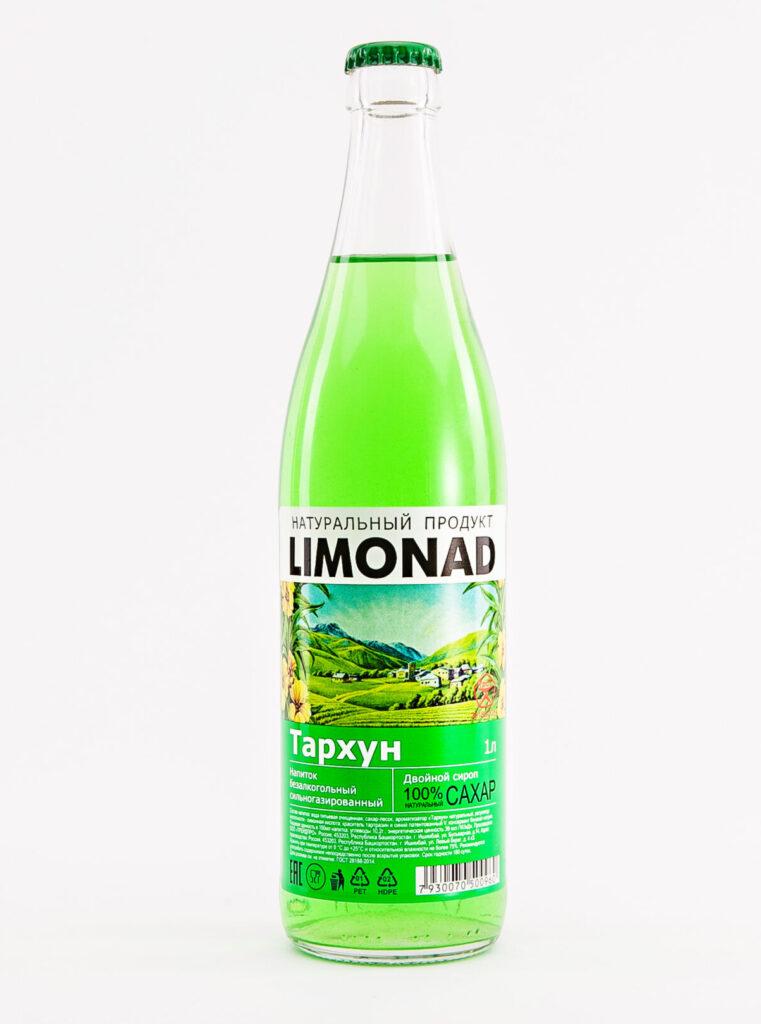 Этикетка на лимонад «Тархун»