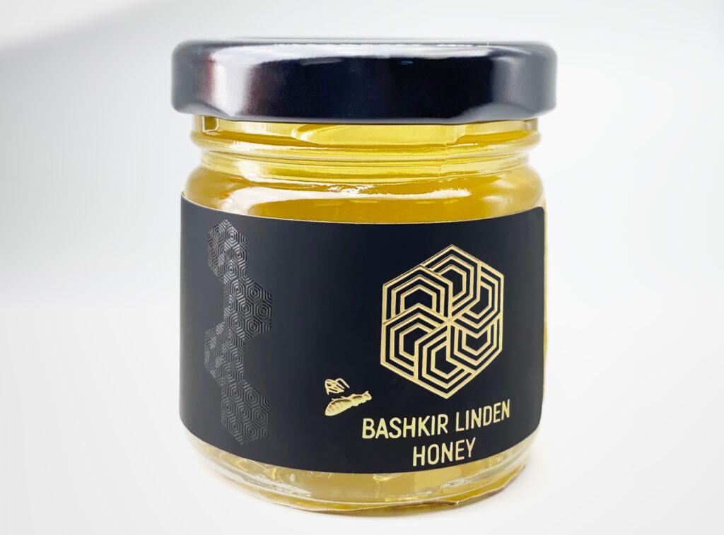 Этикетка на банку мёда